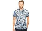 Calvin Klein Multicolor Abstract Print Button Down Shirt
