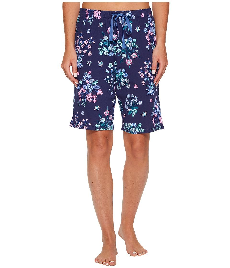 Jockey - Cotton Jersey Printed Bermuda (Botanical Garden) Women's Pajama