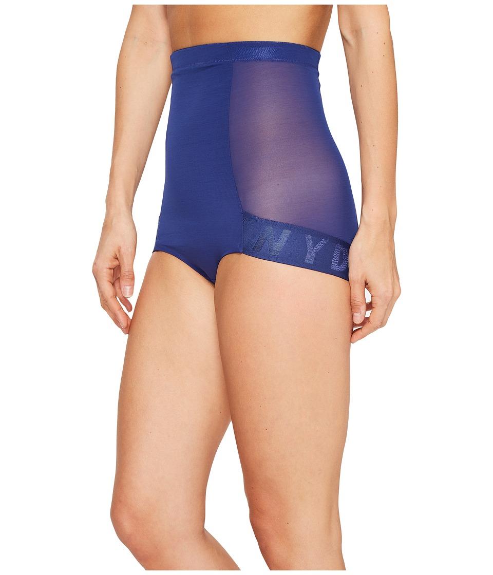 DKNY Intimates - Logo Shaping Brief (Pilot Blue) Women's Underwear
