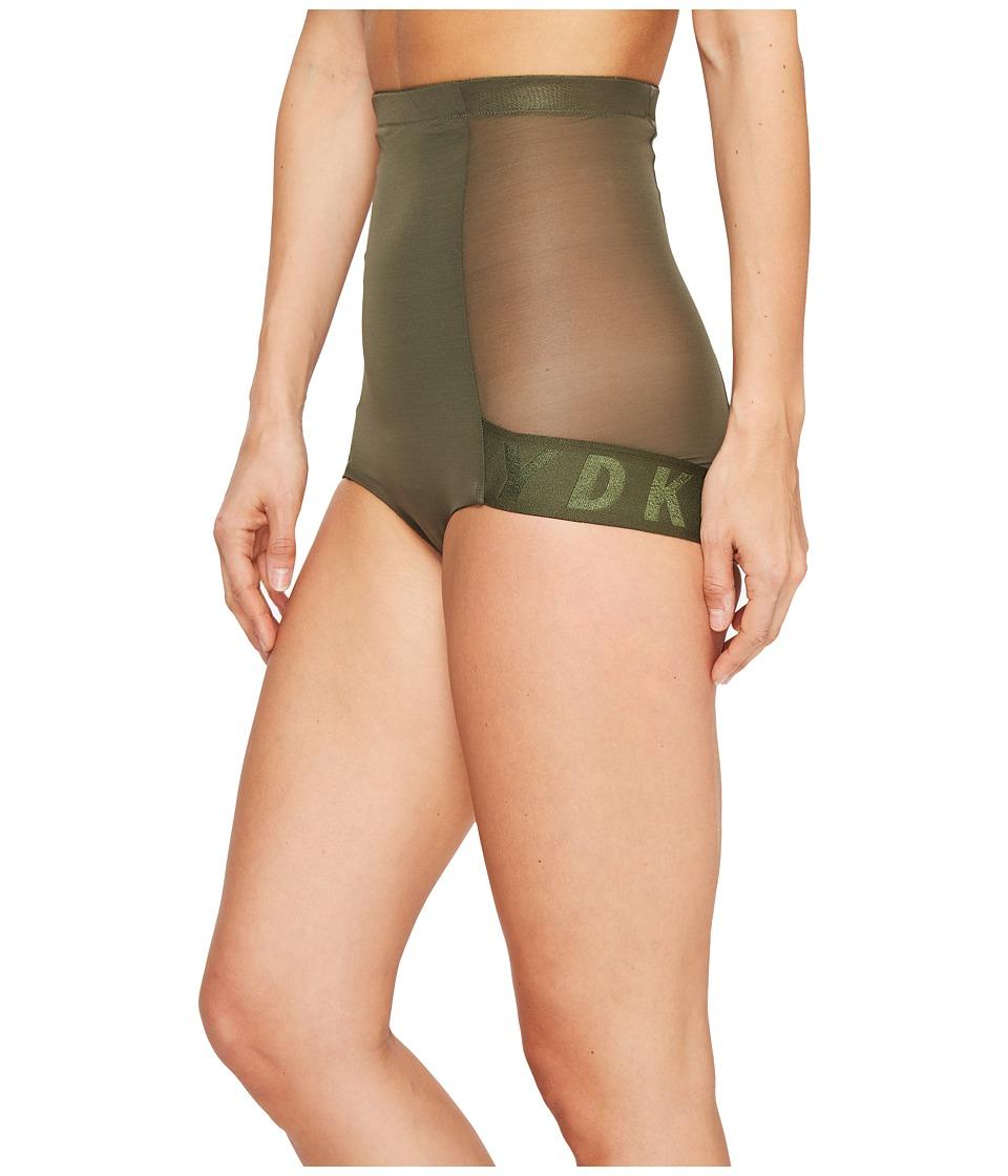 DKNY Intimates - Logo Shaping Brief (Military) Women's Underwear