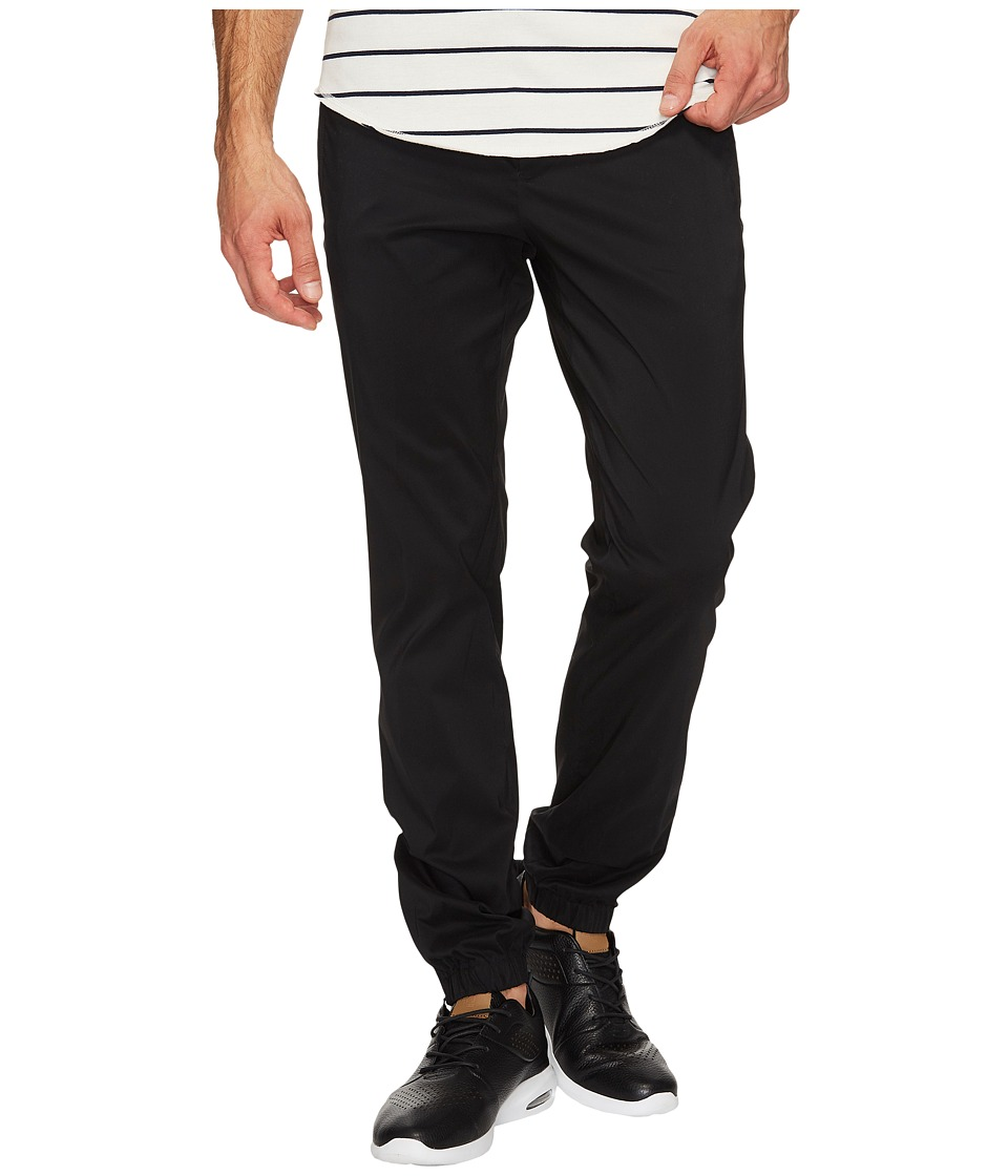 Calvin Klein - Drawstring Tech Stretch Jogger Pants (Black) Men's Casual Pants