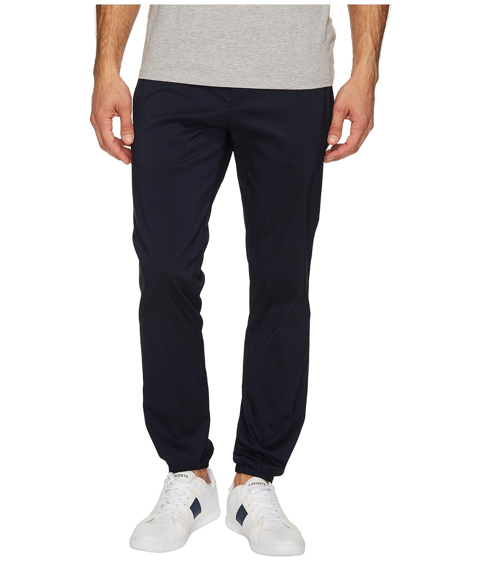 Calvin Klein - Drawstring Tech Stretch Jogger Pants (Cadet Navy) Men's Casual Pants