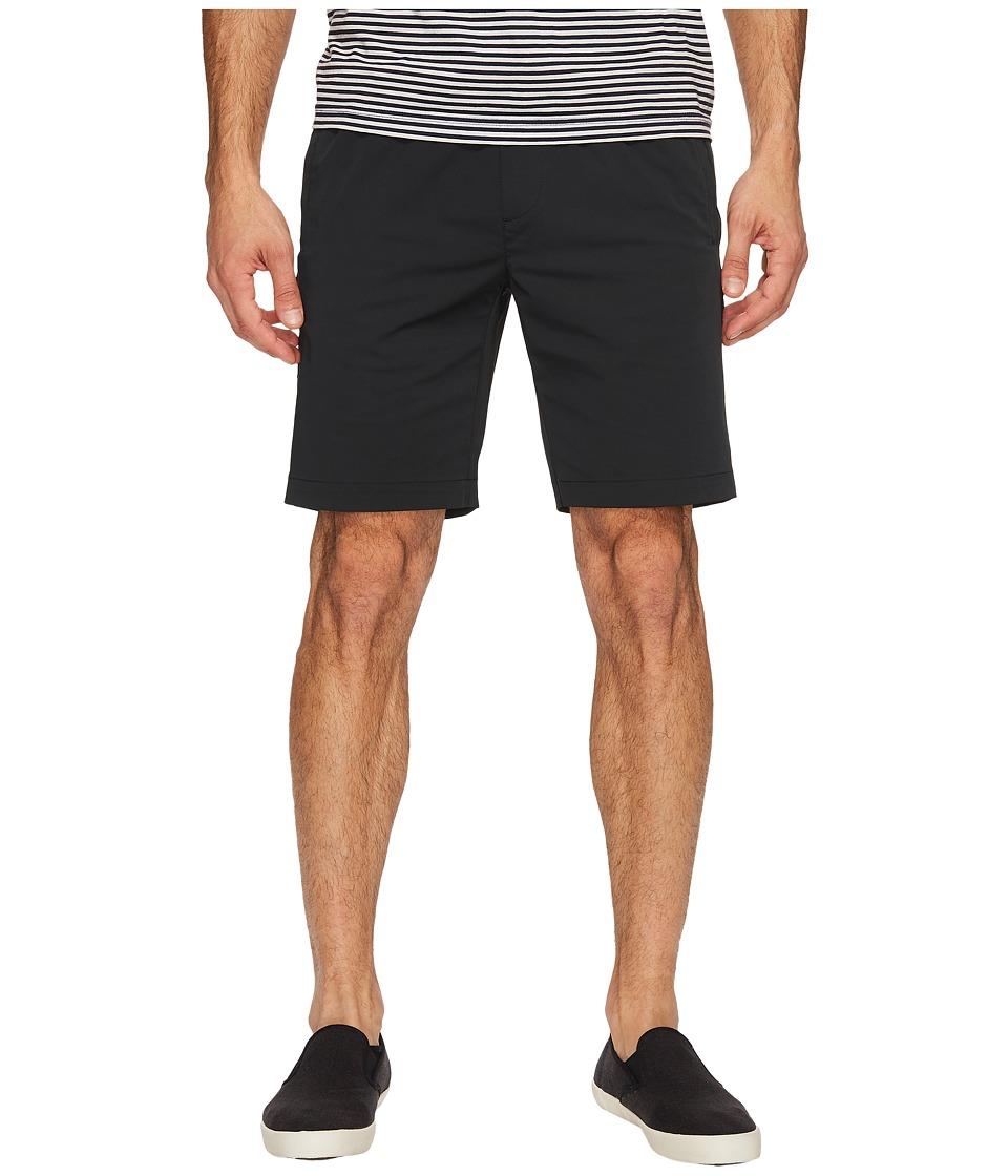 Calvin Klein - Tech Nylon Rib Waist Shorts (Black) Men's Shorts
