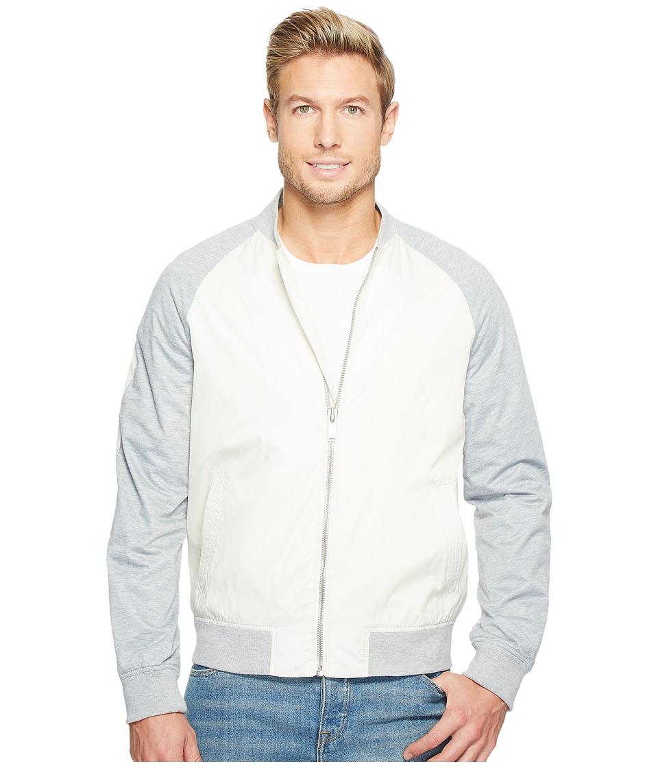 Calvin Klein Jeans Flex Utility Jacket (Lily White) Men
