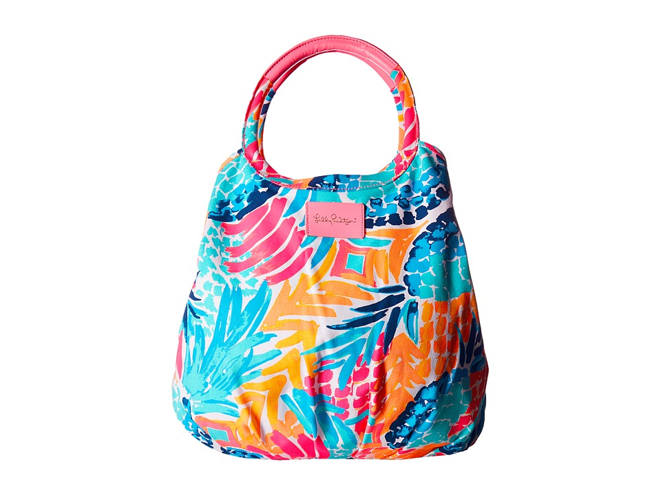 Lilly Pulitzer - Bohemian Beach Tote (Multi Goombay Smashed) Tote Handbags