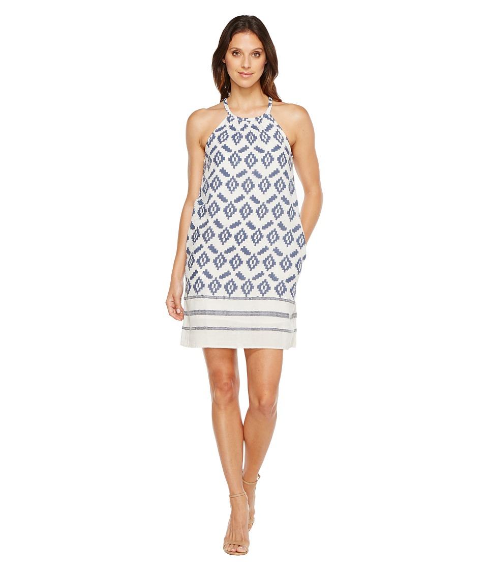 Lucky Brand - Diamond Dress (Blue Multi) Women's Dress