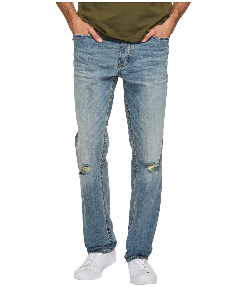Calvin Klein Jeans - Slim Straight Jeans in Mud Slash Wash (Mud Slash) Men's Jeans