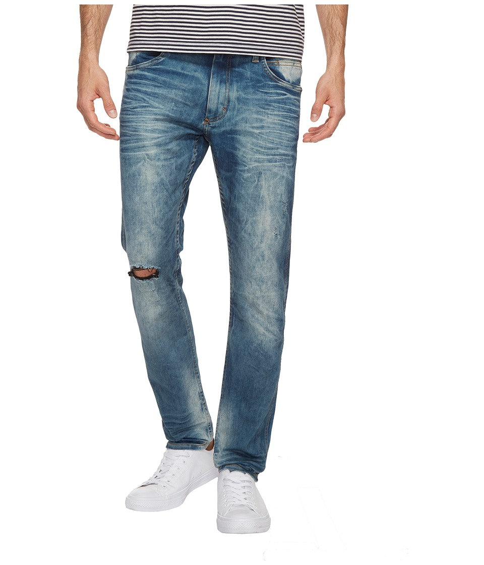 Calvin Klein Jeans - Sculpted Slim Jeans in Postal Blue Wash (Postal Blue) Men's Jeans