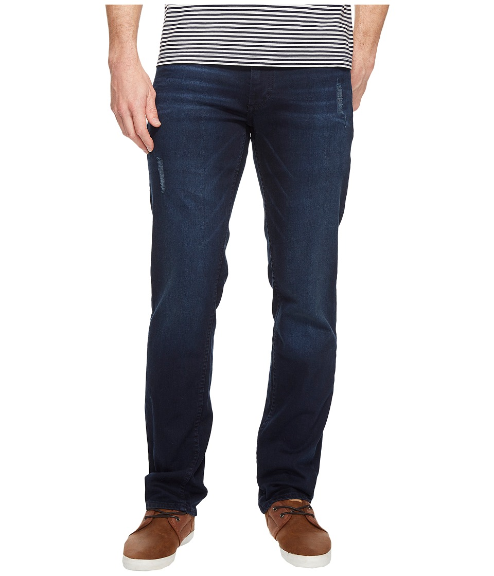 Calvin Klein Jeans - Slim Straight Jeans in Muted Neon Blue Wash (Muted Neon Blue) Men's Jeans