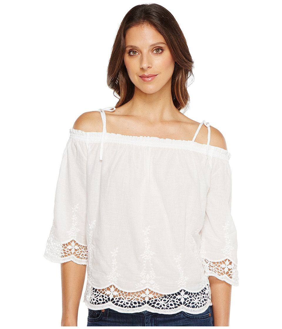Lucky Brand - Eyelet Top (Lucky White) Women's Clothing