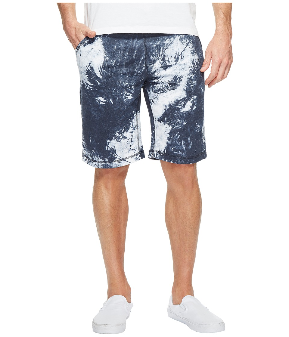 Calvin Klein Jeans - Palm Print Shorts (Black Iris) Men's Shorts