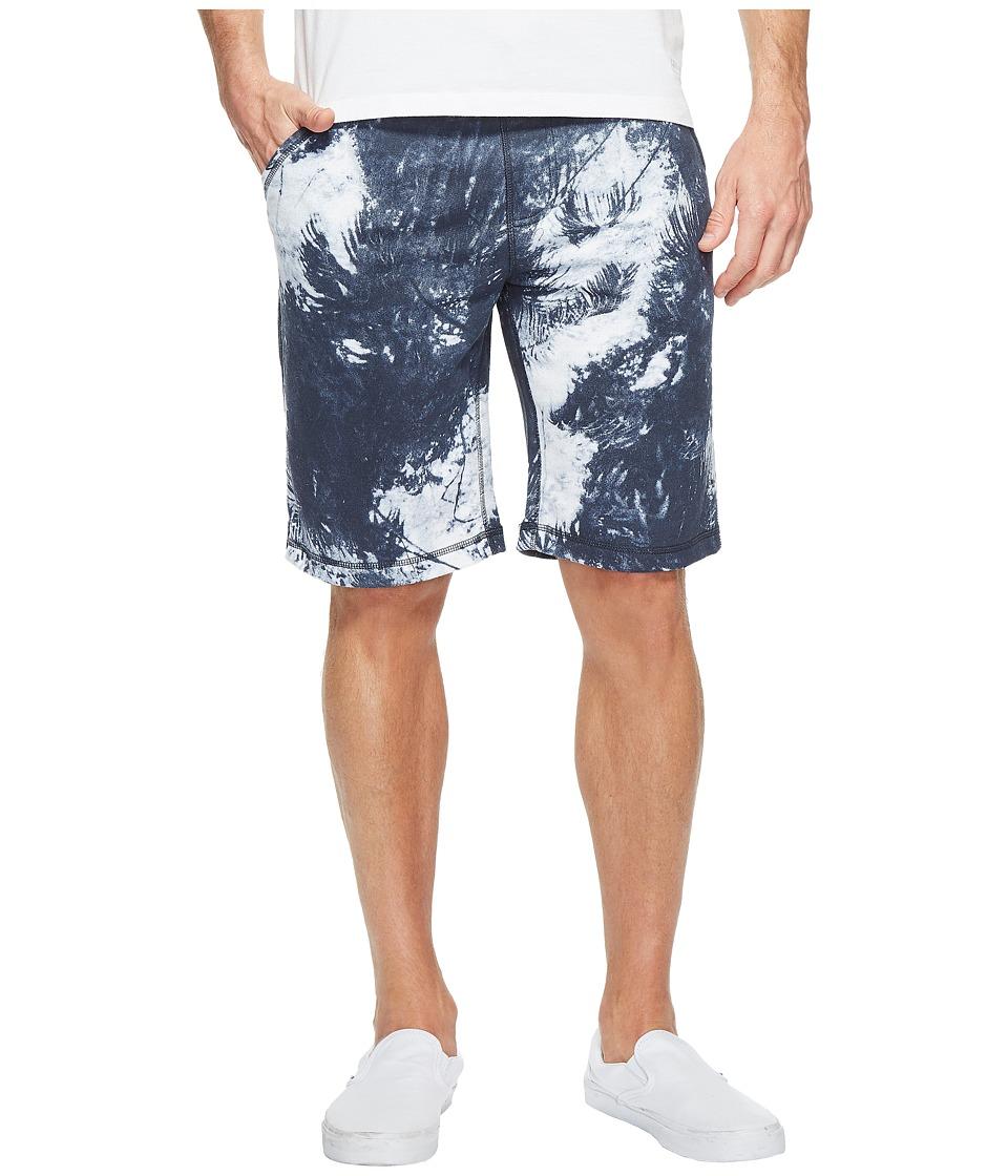 Calvin Klein Jeans - Palm Print Shorts (Black Iris) Men's Shorts