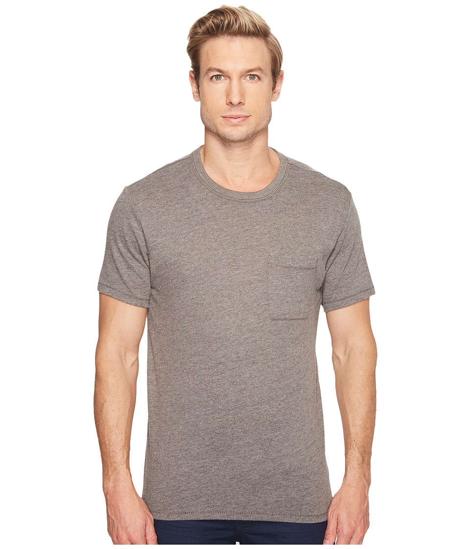 Alternative - Keeper Pocket Tee (Smoke Grey) Men's Clothing