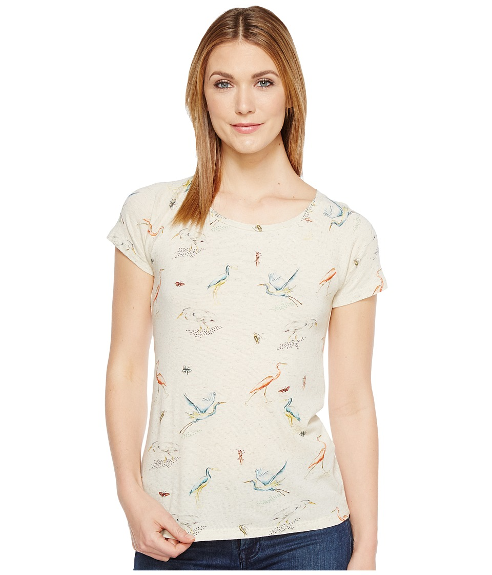 Lucky Brand - Flamingo Tee (Natural Multi) Women's T Shirt