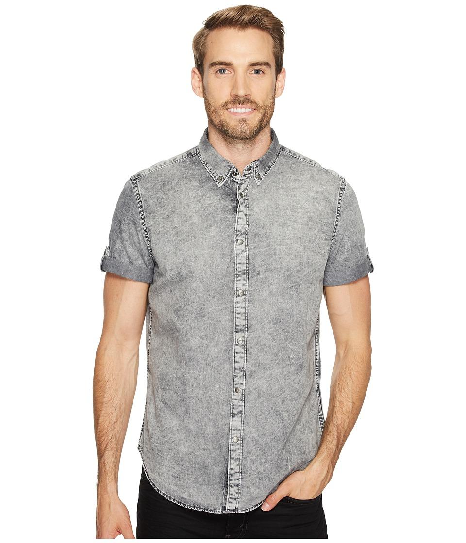 Calvin Klein Jeans - Denim Shirt (Marble Grey) Men's Clothing