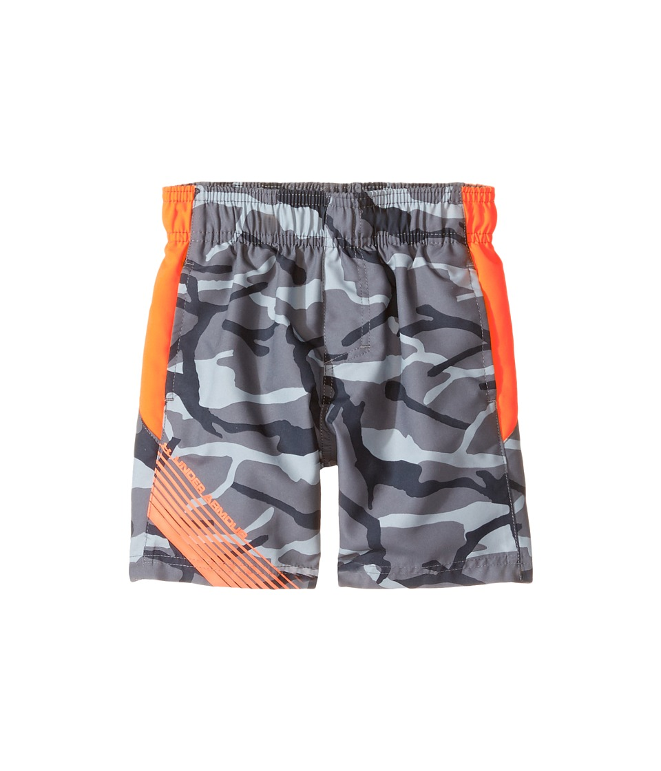 Under Armour Kids - Anatomic Volley (Toddler) (Graphite) Boy's Swimwear
