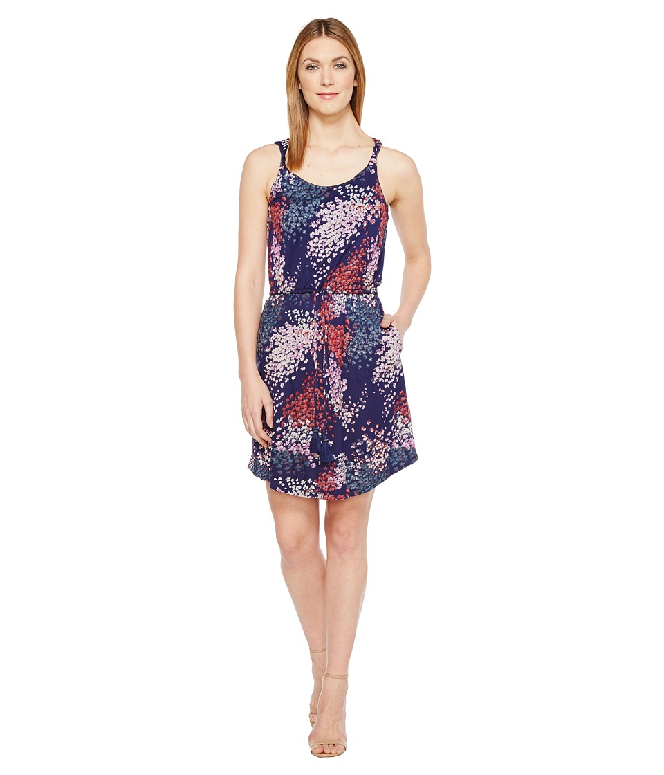 Lucky Brand - Nora Dress (Navy Multi) Women's Dress