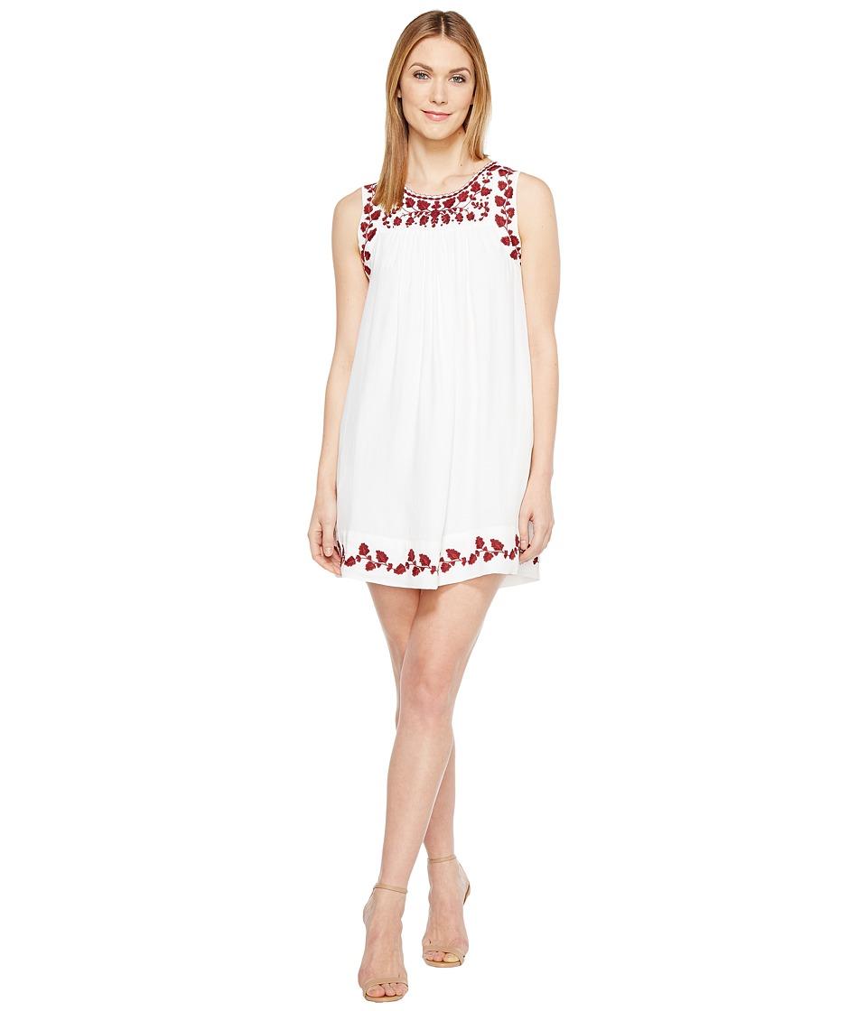 Lucky Brand - Hannah Shift Dress (Lucky White) Women's Dress