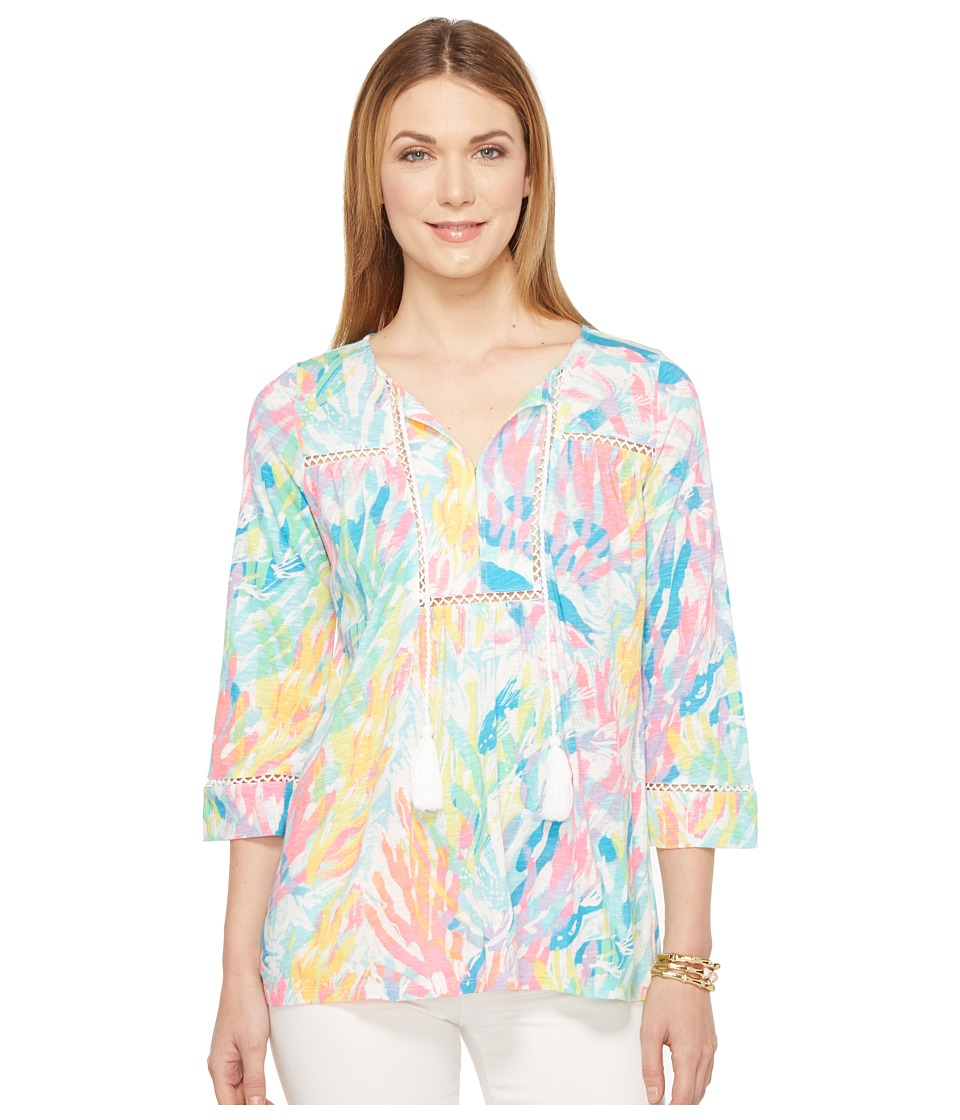Lilly Pulitzer - Tilda Tunic (Multi Sparkling Sands) Women's Blouse