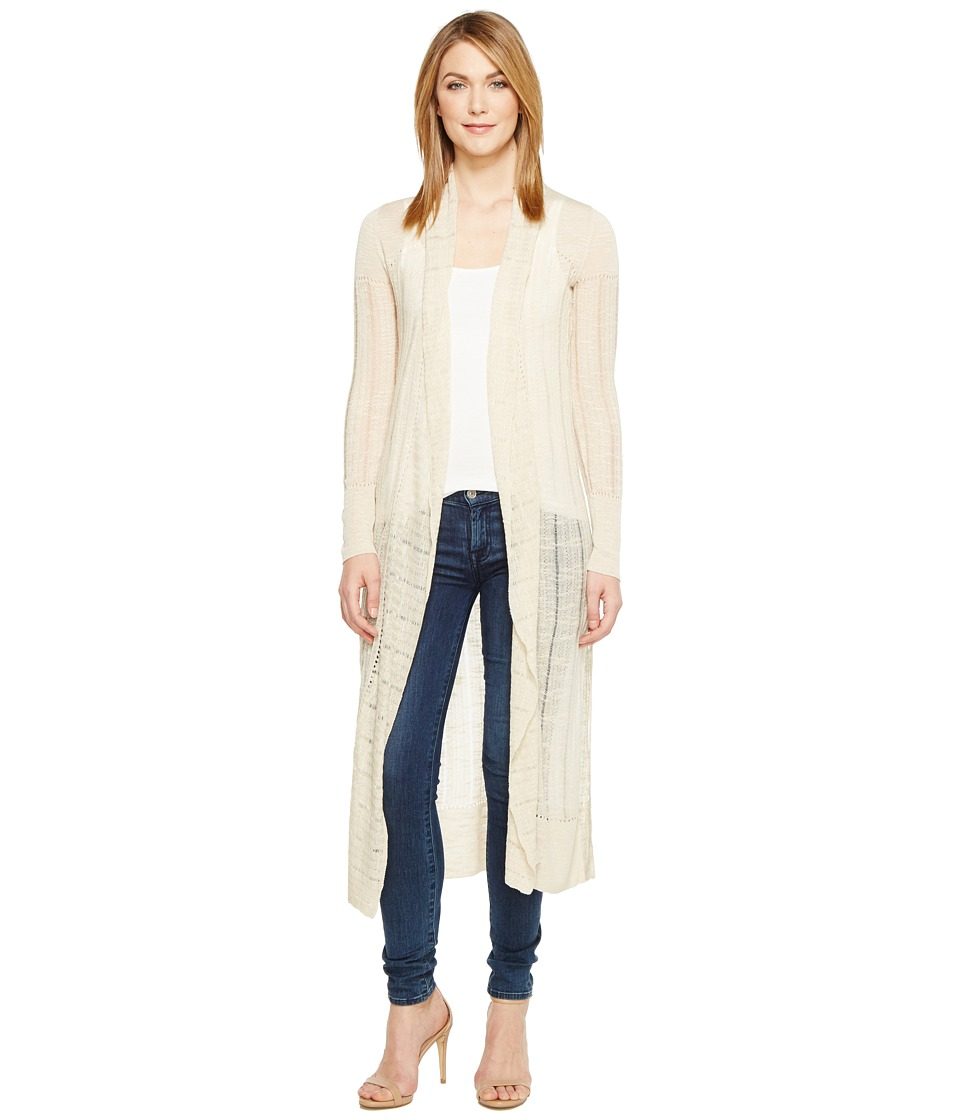 Lucky Brand - Duster Cardigan Sweater (Natural) Women's Sweater