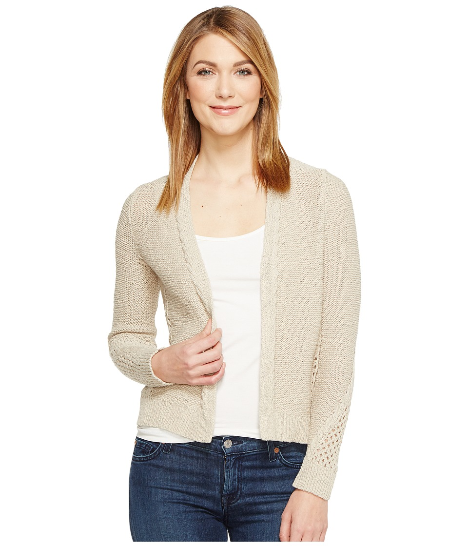 Lucky Brand - Afternoon Cardigan (Putty) Women's Sweater