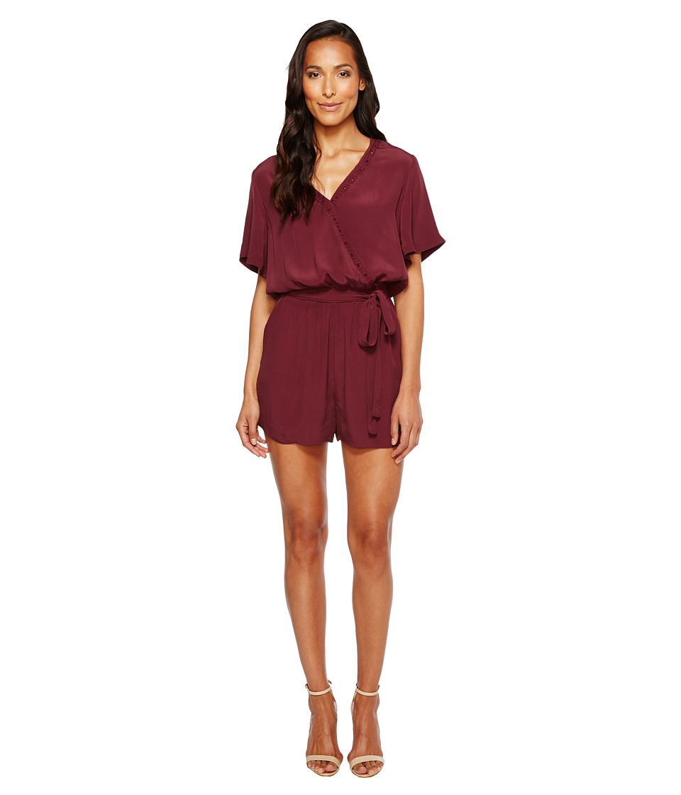 Lucky Brand - Anaelisa Romper (Fig) Women's Jumpsuit & Rompers One Piece