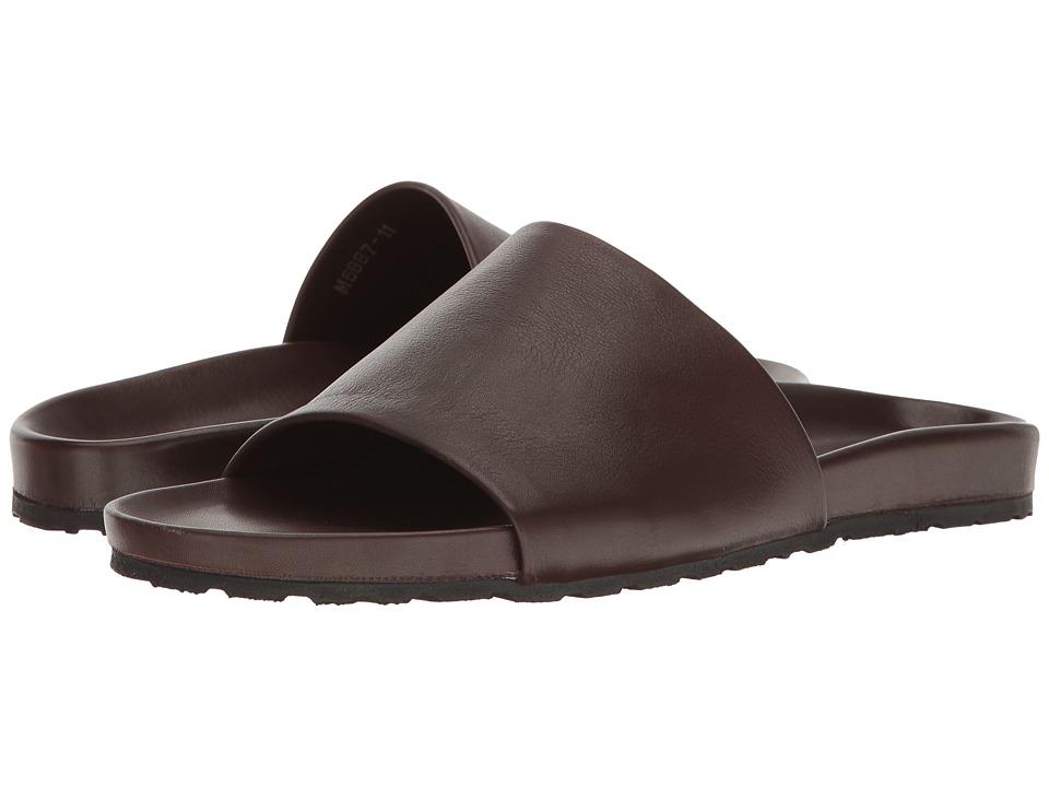 Massimo Matteo - Comfort Slide (Marrone) Men's Sandals