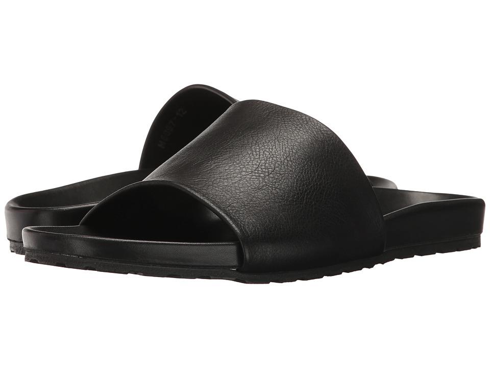 Massimo Matteo - Comfort Slide (Black) Men's Sandals