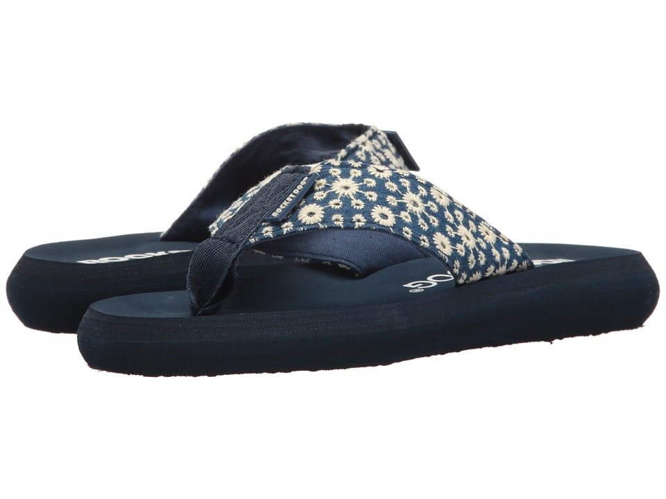 Rocket Dog - Spotlight (Blue Eyelet Bloom) Women's Sandals