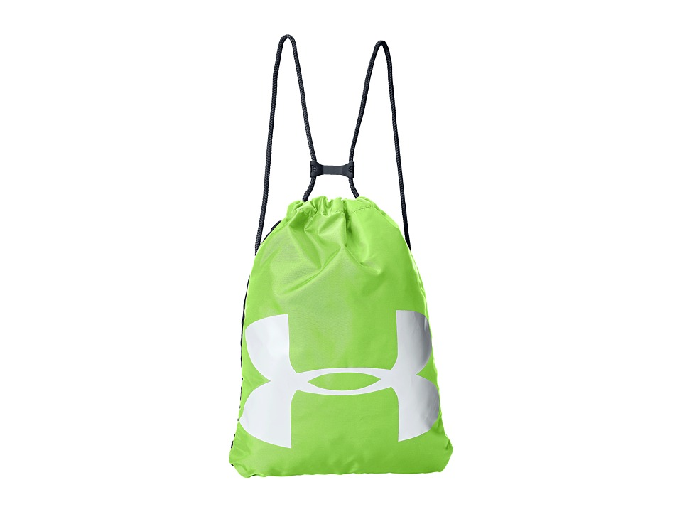 Under Armour - UA Ozsee Sackpack (Lime Green) Backpack Bags