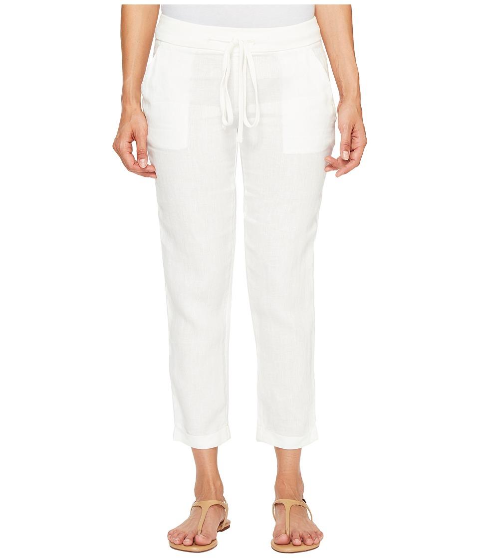 Lucky Brand - Linen Pants (Marshmallow) Women's Casual Pants