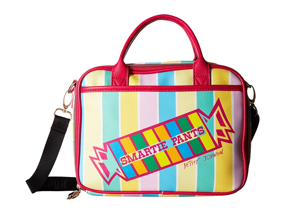 Betsey Johnson - Smarty Pants Lunch Tote (Multi) Tote Handbags