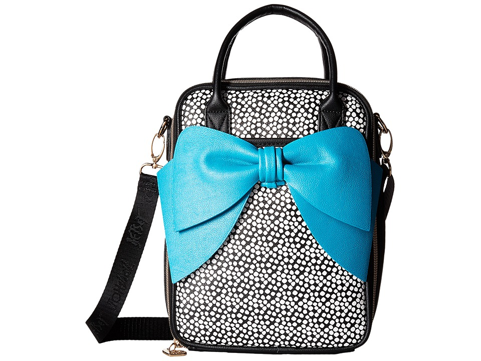 Betsey Johnson - Bow Chow Bella Lunch Tote (Spot) Tote Handbags