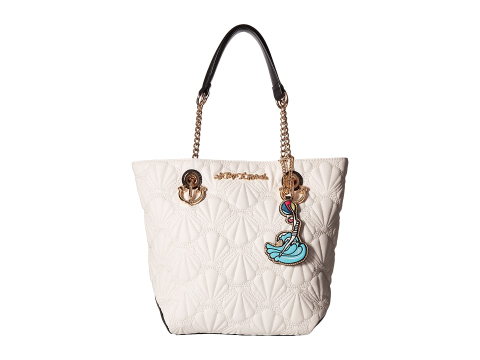 Betsey Johnson - Shell Yeah Tote (Cream) Tote Handbags