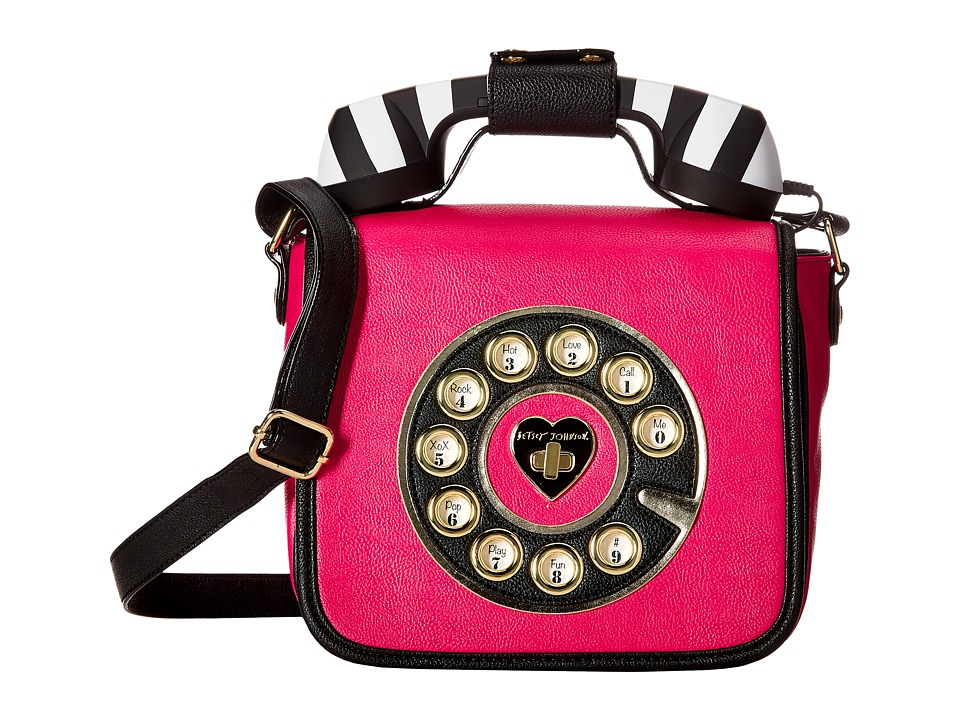Betsey Johnson - Betsey's Hotline (Fuchsia) Handbags