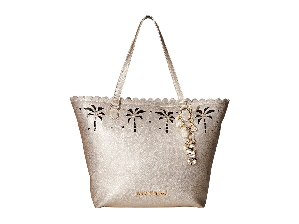Betsey Johnson - Coconuts About You Tote (Metallic) Tote Handbags