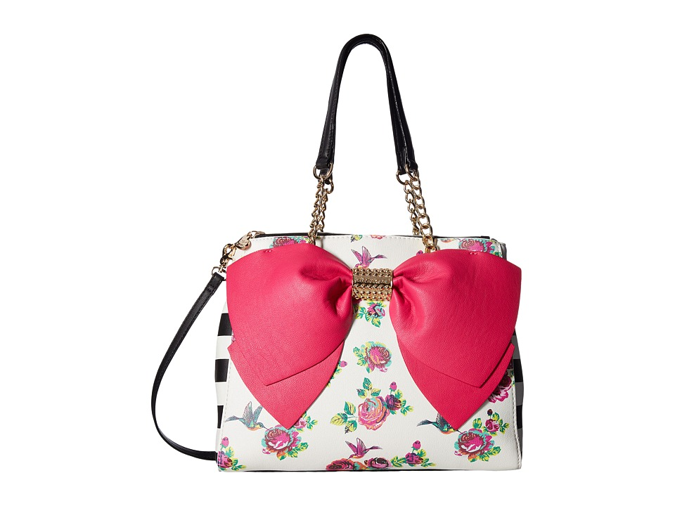 Betsey Johnson - Welcome To The Big Bow (Fuchsia) Handbags