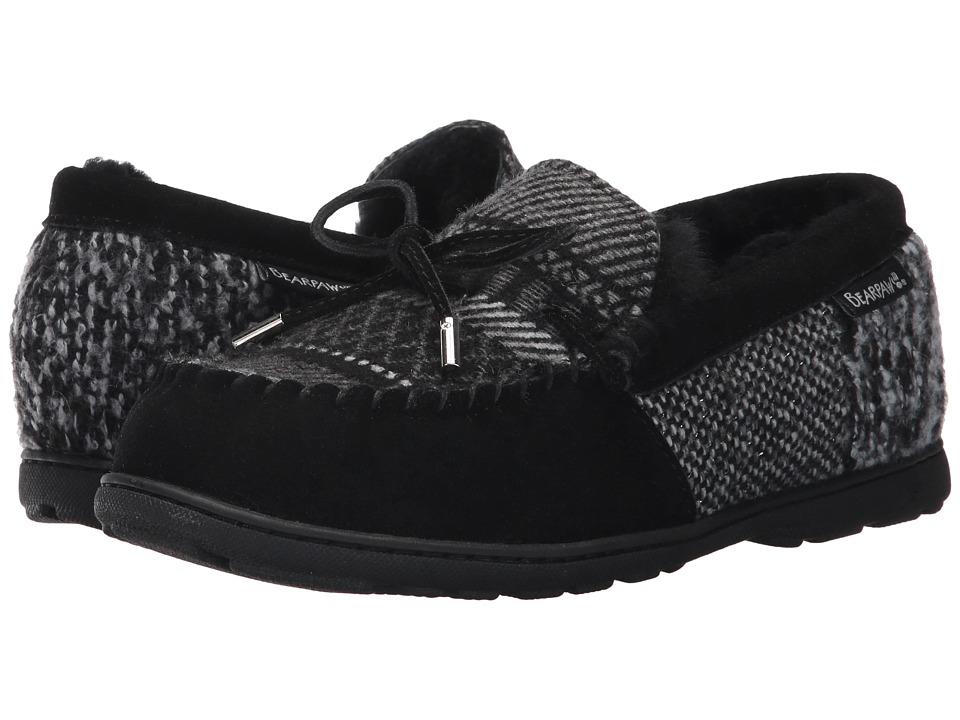 Bearpaw - Mindy (Black Patchwork) Women's Shoes