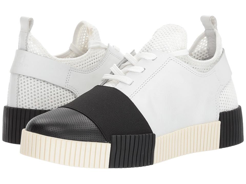 Marc Fisher LTD - Ryley (White/Black/White/Black/White) Women's Shoes
