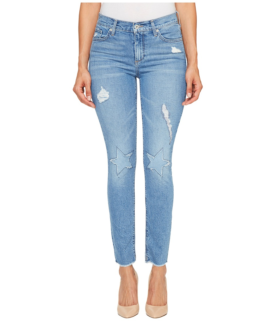 Lucky Brand - Americana Mid-Rise Skinny Jeans in Horizon City (Horizon City) Women's Jeans
