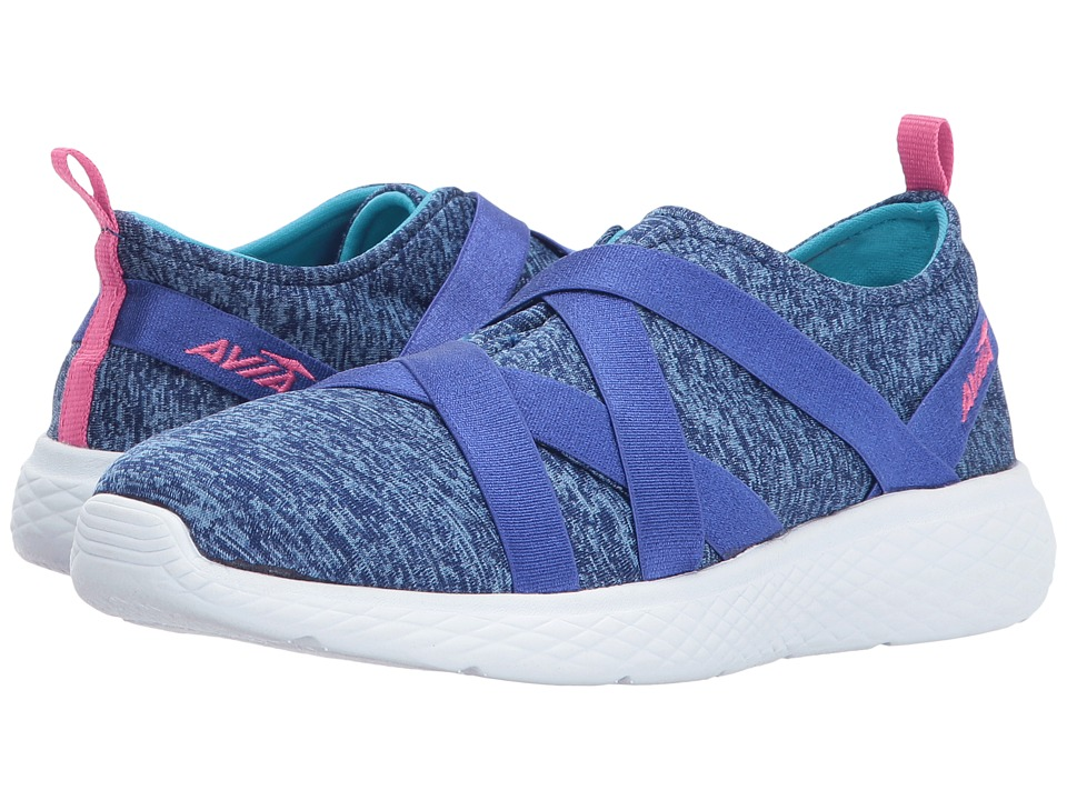 Avia Kids Avi-Karma (Little Kid/Big Kid) (Goddess Blue/Detox Blue/Pink Energy) Girls Shoes