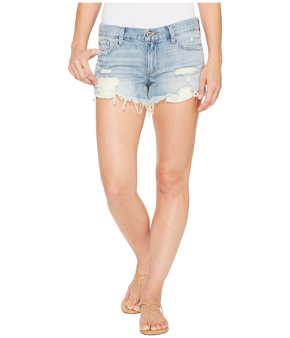 Lucky Brand - Drop Pocket Cut Off Shorts in Coral Springs (Coral Springs) Women's Shorts