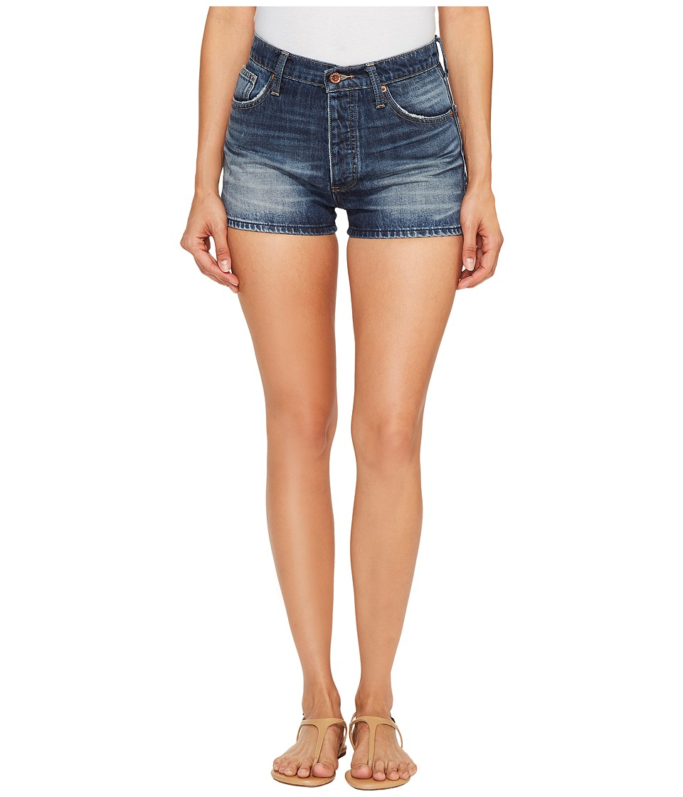 Lucky Brand - A Line Vintage Shorts in Beach City (Beach City) Women's Shorts