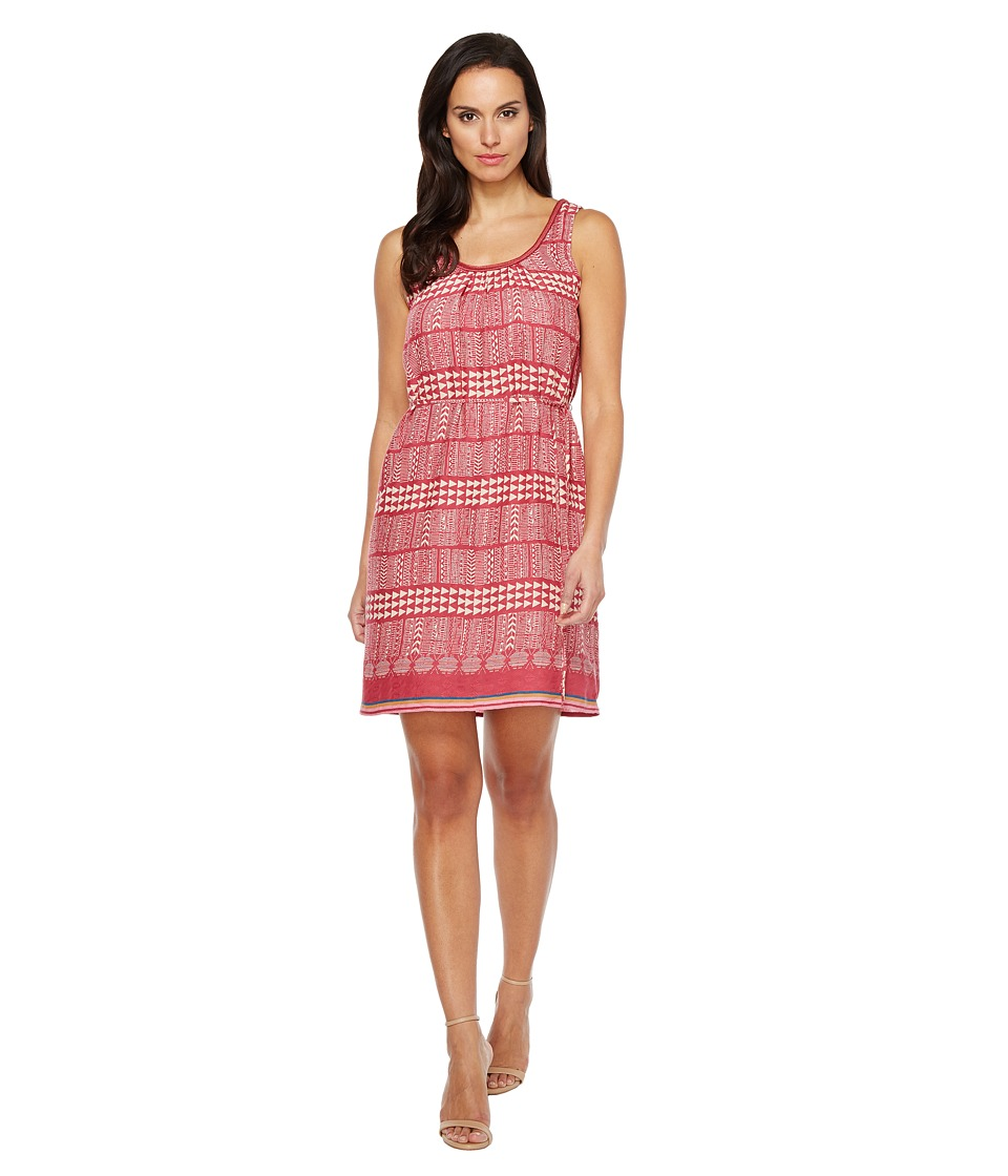 Lucky Brand - Geo Print Dress (Red Multi) Women's Dress