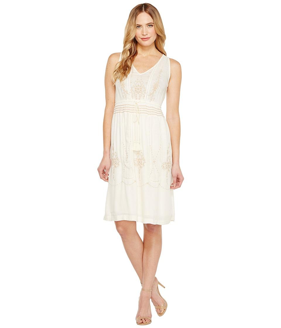 Lucky Brand - Layla Dress (Eggshell) Women's Dress