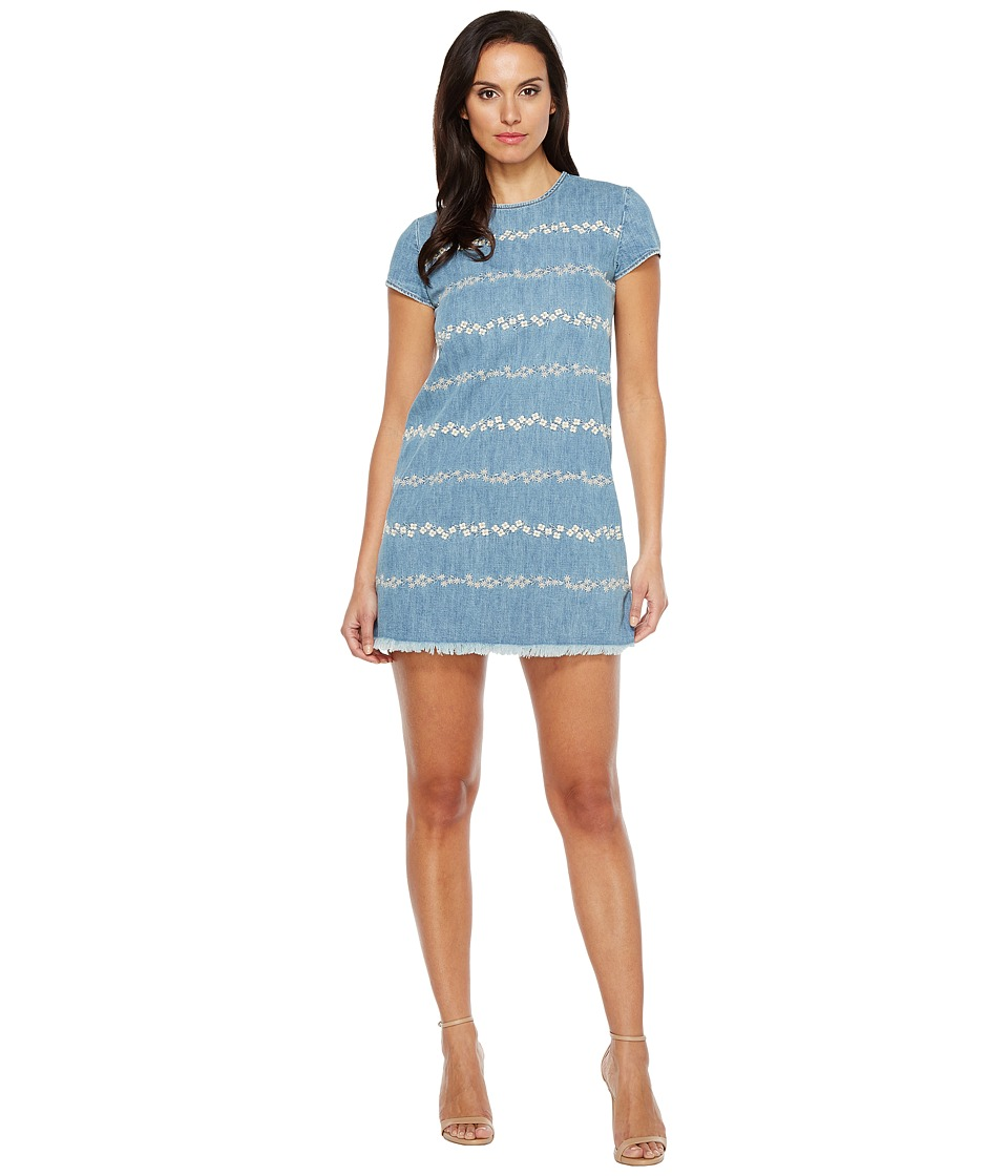 Lucky Brand - Floral Shift Dress (Honey Grove) Women's Dress