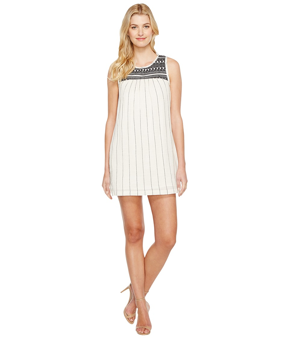 Lucky Brand - Mila Dress (White Multi) Women's Dress