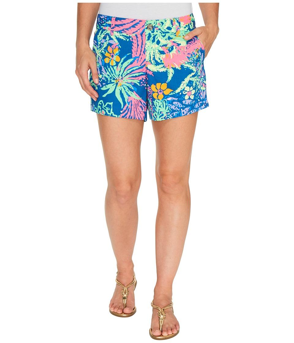 Lilly Pulitzer - Callahan Shorts (Indigo All A Glow) Women's Shorts
