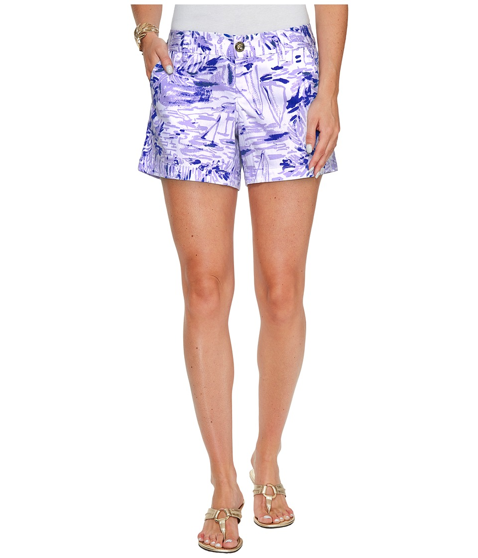 Lilly Pulitzer - Callahan Shorts (Lilac Verben Rock The Dock) Women's Shorts