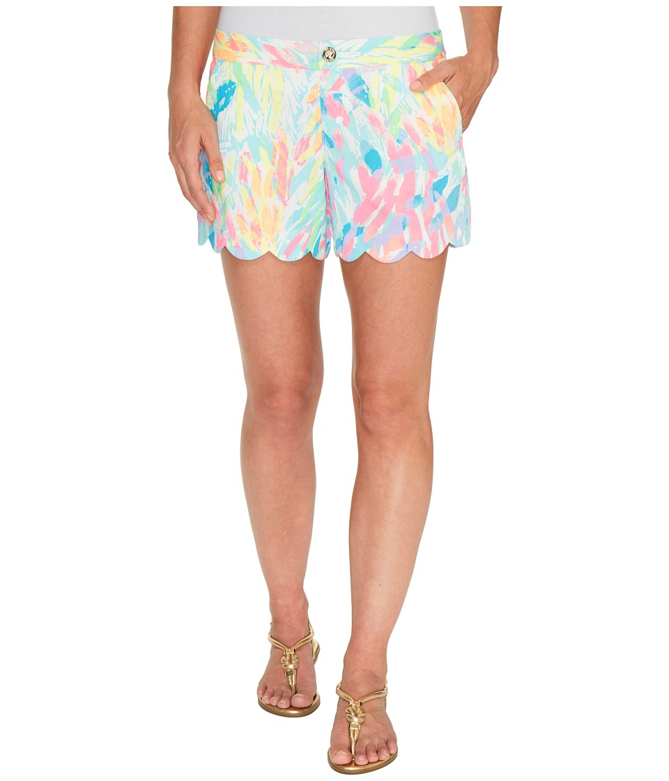 Lilly Pulitzer - Buttercup Shorts (Multi Sparkling Sands) Women's Shorts